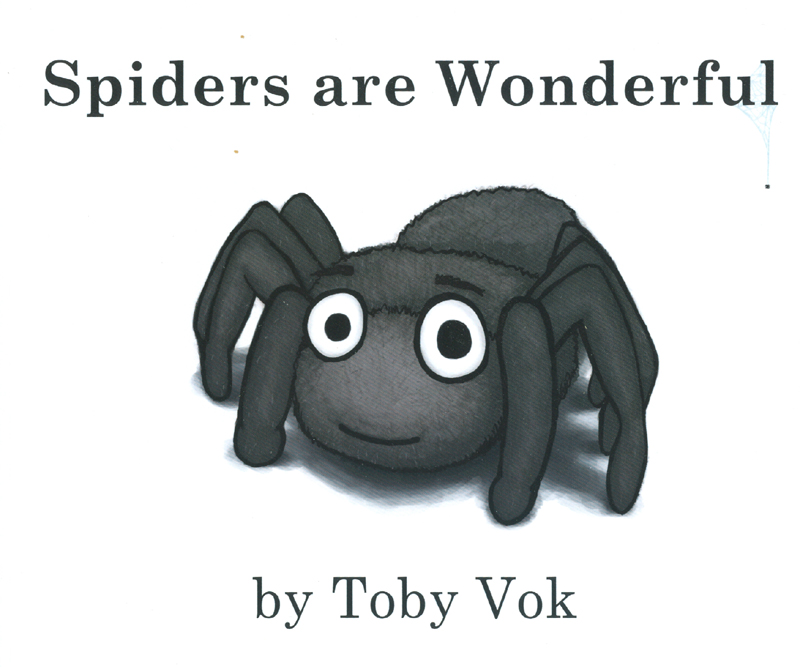 "the cover of the book ""spiders are wonderful"""